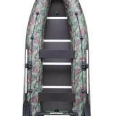Лодка надувная моторная Kolibri КМ-360dsl и фанерный пайол со стрингерами