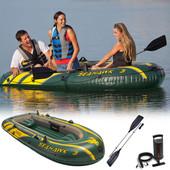 Лодка надувная гребная Intex 68380 Sea Hawk