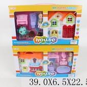 Домик 8135-6   2вида,с куколкой,2-х этаж,с мебелью