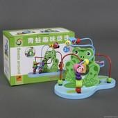 """Пальчиковый лабиринт """"Лягушонок"""", Wooden Toys (555-252)"""