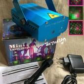 Лазерный проектор, стробоскоп, лазер шоу, цветомузыка