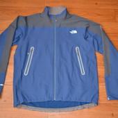 Куртка софтшелл The north face, XL, серо-синяя