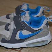 Nike AirMax кроссовки 22р Оригинал.кожаные. 2104г.в.