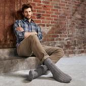 теплые мужские носки.ТСМ.Германия.39-42.коричневый