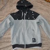 мужская деми курточка Nike оригинал США в сост новой размер S-M двусторонняя!