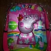 Детский рюкзак 5Д картинка 32 на 26 см Пеппа