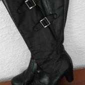 Шикарные кожаные сапоги от  gabor