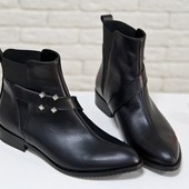 Новинка!!!! деми/зима ботинки натуральная замша / кожа код:ДЖ Б-17358/1