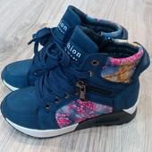 Стильные ботиночки сникерсы Kimbaloo