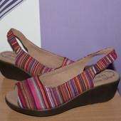 Красивые босоножки сандалии Hotter разм 37-37.5 по стельке 24 см сост новых