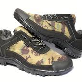 Зимние камуфляжные ботинки/кроссовки (КБ-16)
