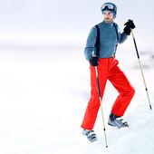 Отличные мужские лыжные термо-брюки от Tchibo sports размер M (50)