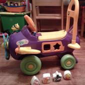 Детская машинка каталка Винни пух