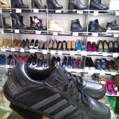 Черные мужские кроссовки с серыми вставками
