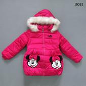 Теплая куртка Minnie Mouse . 4-5 лет. Еврозима
