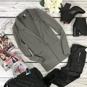 Базовый пиджак-оверсайз H&M с объемными карманами  JC4154