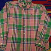 рубашка  Ralph Lauren на мальчика 8-9 лет
