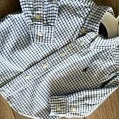 Ralph lauren оригинал рубашка на годик на день рождения