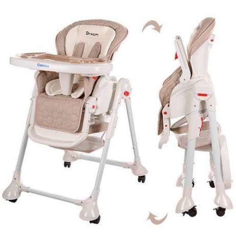 бэмби стульчик -качалка для кормления bambi 3551 dream фото №1
