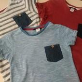 Комплект футболок George 4-5 лет в идеальном состоянии