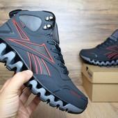 Зимние ботинки Reebok zigwild gray