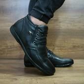 Ботинки YDG, натур. кожа на меху, р 40-45, код gavk-10463