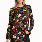 Блузка с длинным рукавом, H&M, XL