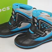 Сапоги фирма Crocs (Крокс), амер. 10, европ. -27-28, по стельке-17-17, 5 см