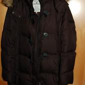 Пальто пуховик 40 (L) Tom Tailor хорошее состояние