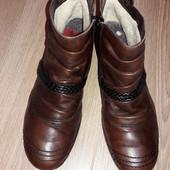 Ботинки кожа  Rieker р.39 стелька 25 см.