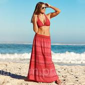 Яркая красивая длинная юбка S 36 38 евро тсм Tchibo Германия