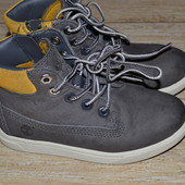 Timberland 25.5р Оригинал. Демисезонные ботинки кожаные.,еврозима.