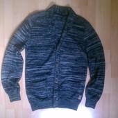 Фирменный кардиган свитер L