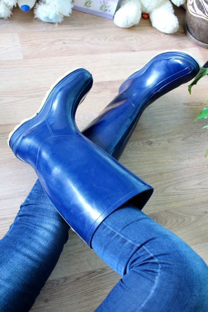 Резиновые сапожки фото №3