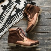 Кожаные теплые ботинки Kickers р-р 44