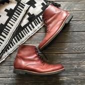 Натуральные ботинки р-р 46