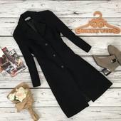 Классическое пальто-бойфренд Naf Naf из натуральной шерсти  OW4249