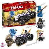 Конструктор Ninja 31046, аналог Lego ninjago 2263 Турбо Шредер, 307 дет, джей коул, ниндзяго