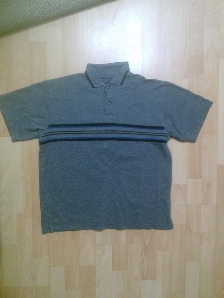 Фирменная футболка поло m фото №1