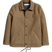 Куртка полупальто из кашемира H&M размер М