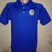 Новая спортивная футболка с логотипом футбольного клуба Челси. Р 48
