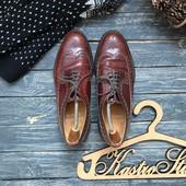 Кожаные туфли броги Loake 43-44