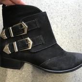 Новые женские ботинки,ботильоны,бренд San Marina,кожаные,замшевые 36 р