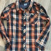 рубашка мальчику F&F 5-6 лет 116см
