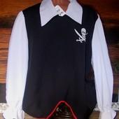 Маскарадная рубашка для пирата 52 размера
