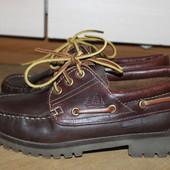 Стильные туфли , топсайдери  кожаные moshulu