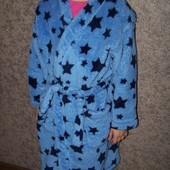 Теплый халат Marks&Spencer 6-7 лет