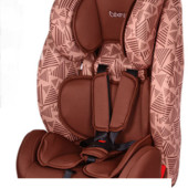 Детское автокресло Bambi M 3554 (9-36кг) коричневое