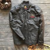Мужская кожаная куртка рр XL Натуральная кожа