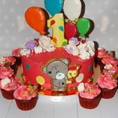 Candy bar в стиле мишки Тедди.